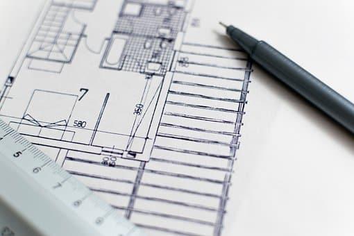 architecte dessin plans