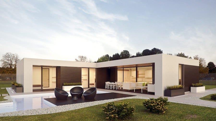 decoration exterieure d'une maison avec PVC